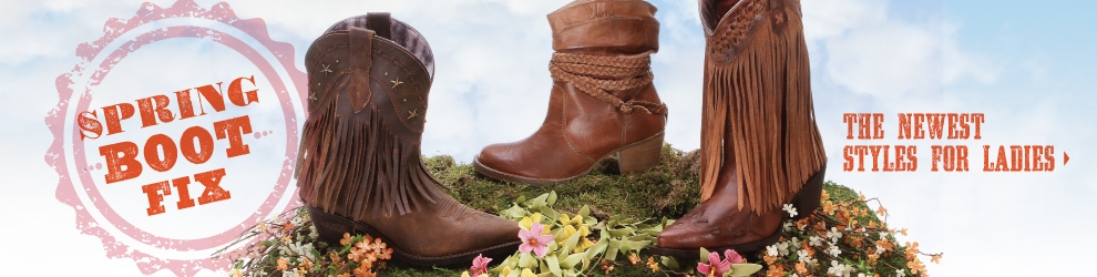 Cowgirl Boots Spring Arrivals