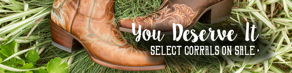 Select Corral Boots on Sale!