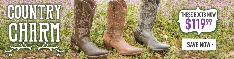 Womens Durango Boot Sale