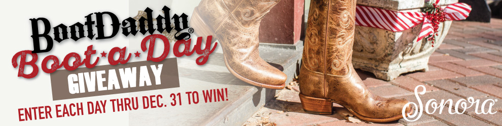 BootDaddy Boot-A-Day Giveaway