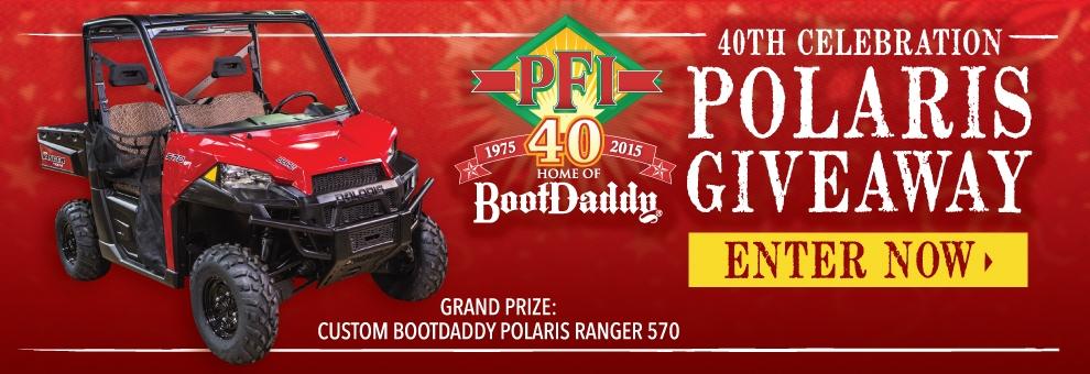 Polaris Ranger Giveaway