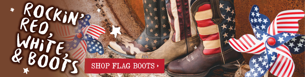 American Flag Boots