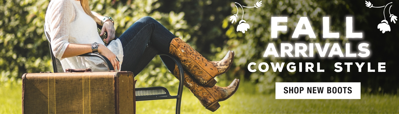 New Fall Cowgirl Boot Arrivals