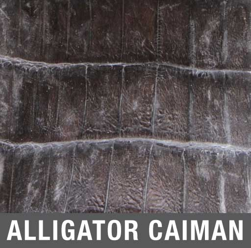 Alligator Caiman Exotic Skin Boots