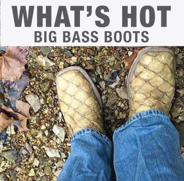 Big Bass Exotic boots