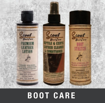 shop boot care products