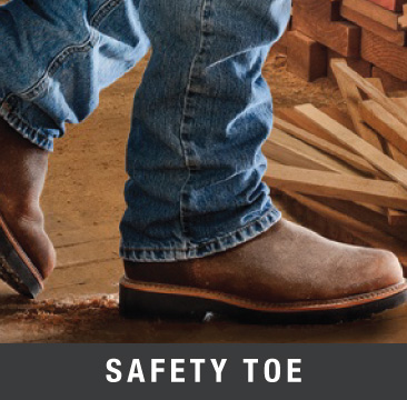 safety toe cowboy boots