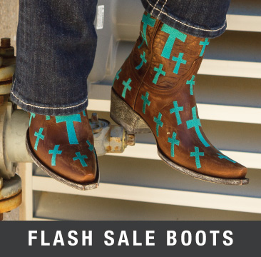 flash sale boots