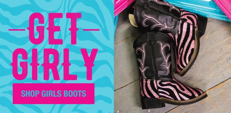Shop Girls Cowboy Boots