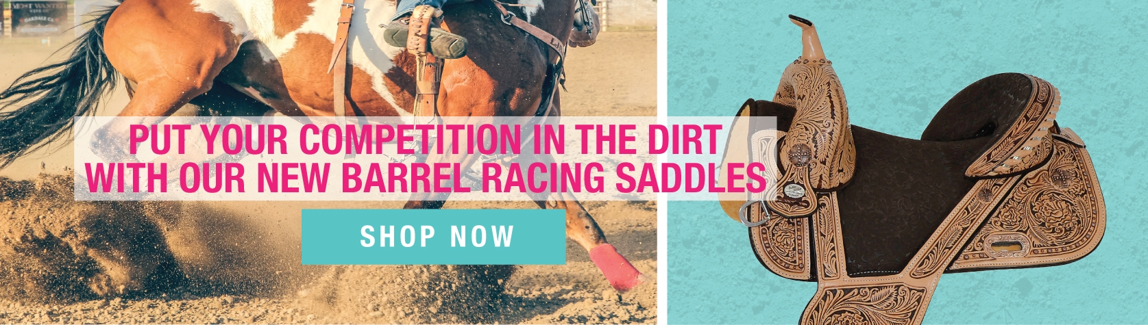 Barrel Racing Saddles