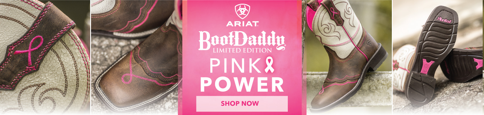 PFI Ariat Pink Ribbon Boot