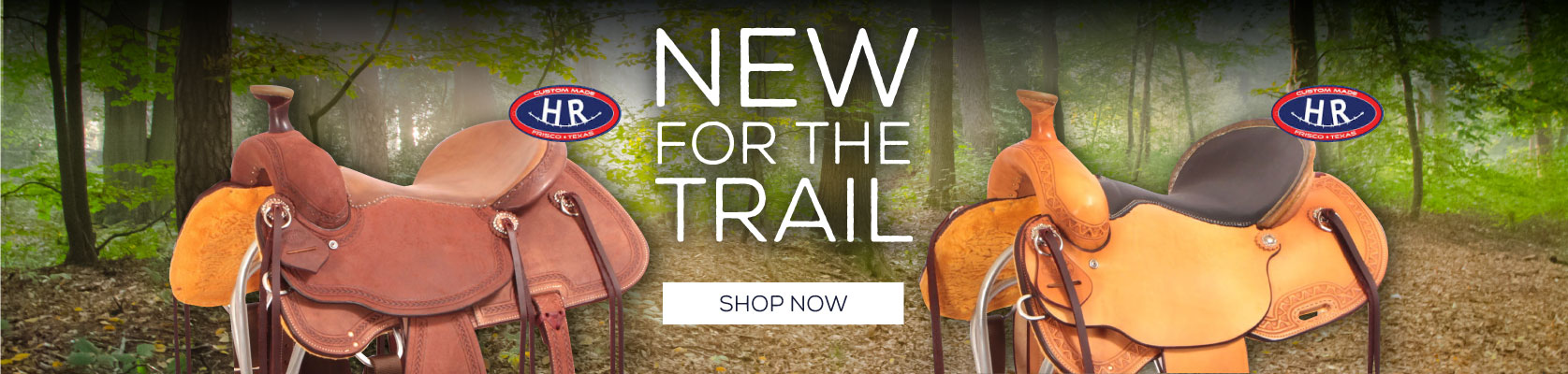 HR Trail Saddles for Spring and Summer