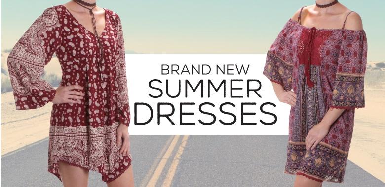 Western Summer Dresses