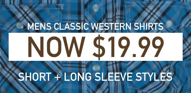 Mens Classic Western Shirts