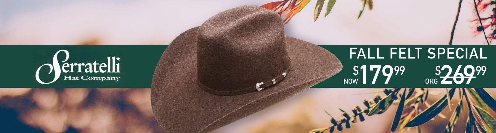 Serratelli Felt Hats