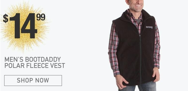 BootDaddy Polar Fleece Vest