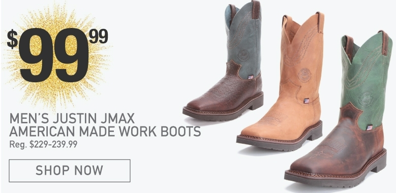 Justin JMax American Made