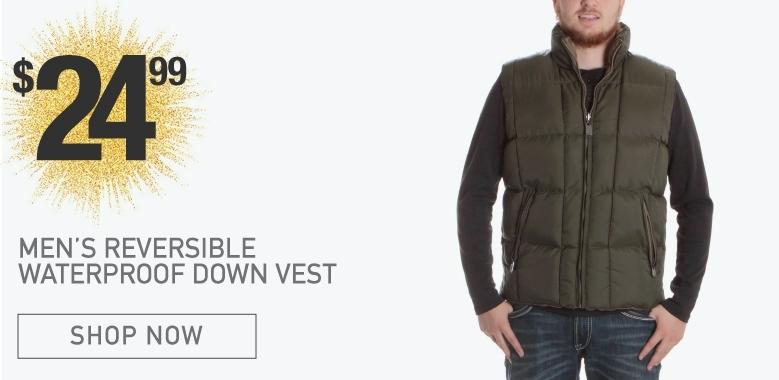 BootDaddy Reversible Down Vest