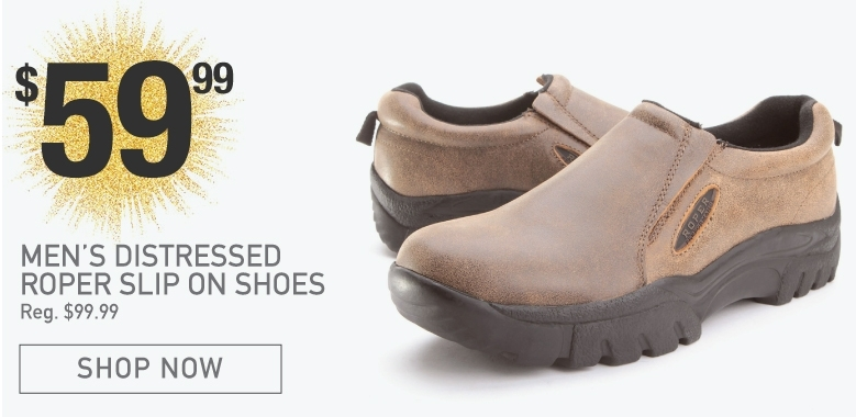 BootDaddy Roper Slip On Shoes