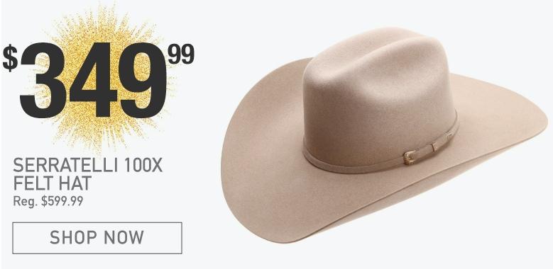Serratelli 100X Felt Hats