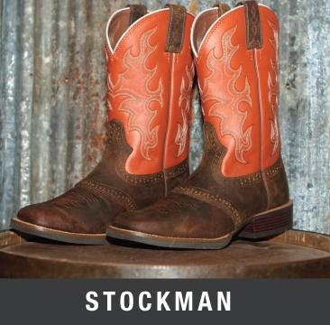 stockman cowboy boots
