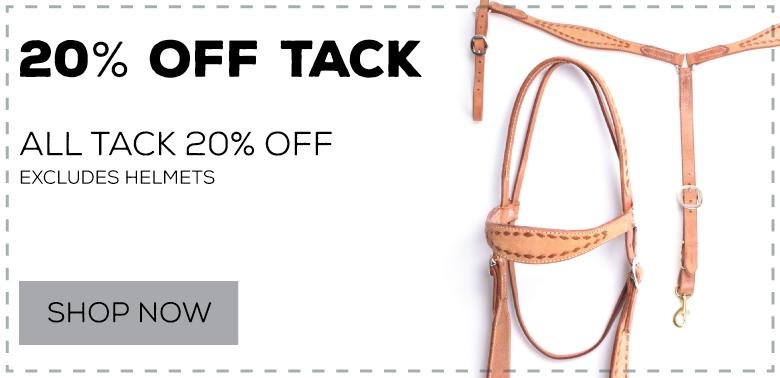 20% Off Tack