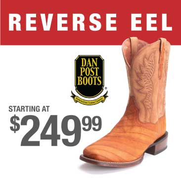 Reverse Eel Exotic Boot