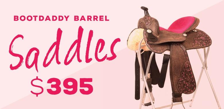 BootDaddy Barrel Saddle