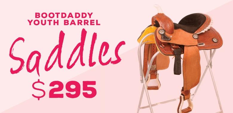 BootDaddy Youth Barrel Saddle