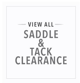 Saddle and Tack Clearance
