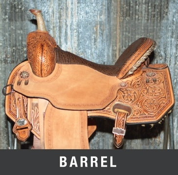 Barrel Saddles