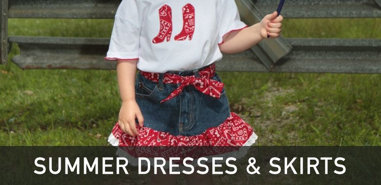 Girls Western Summer Dresses