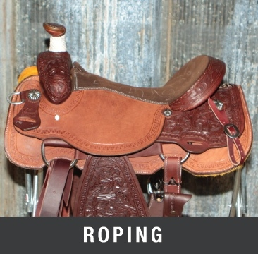 Roping Saddles