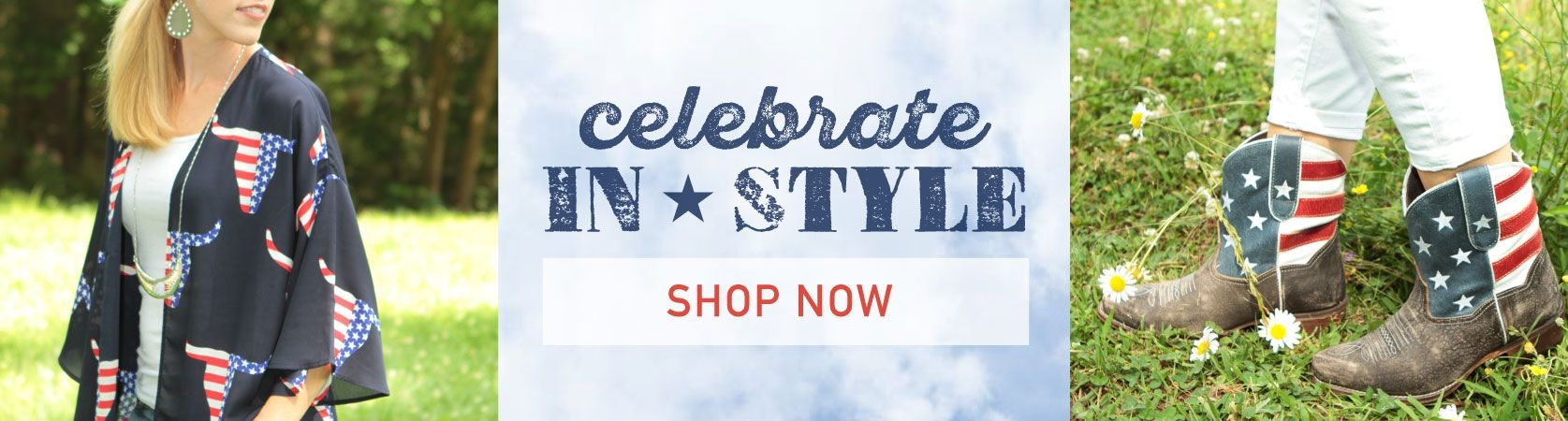 Womens Patriotic Clothing