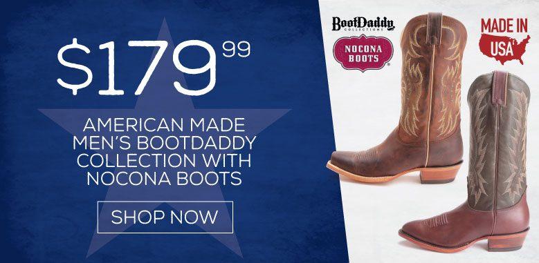 BootDaddy Nocona Boots