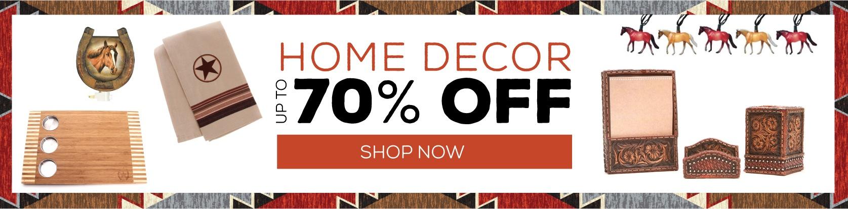 Home Decor 70% Off
