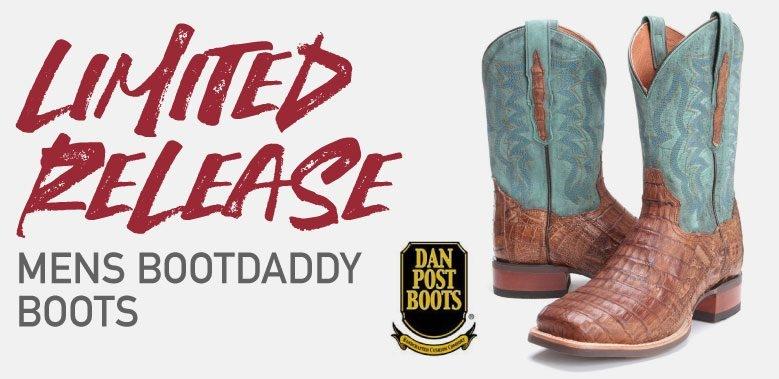 BootDaddy Dan Post Cowboy Boots