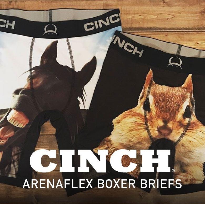 Cinch Mens Underwear and Boxer Briefs