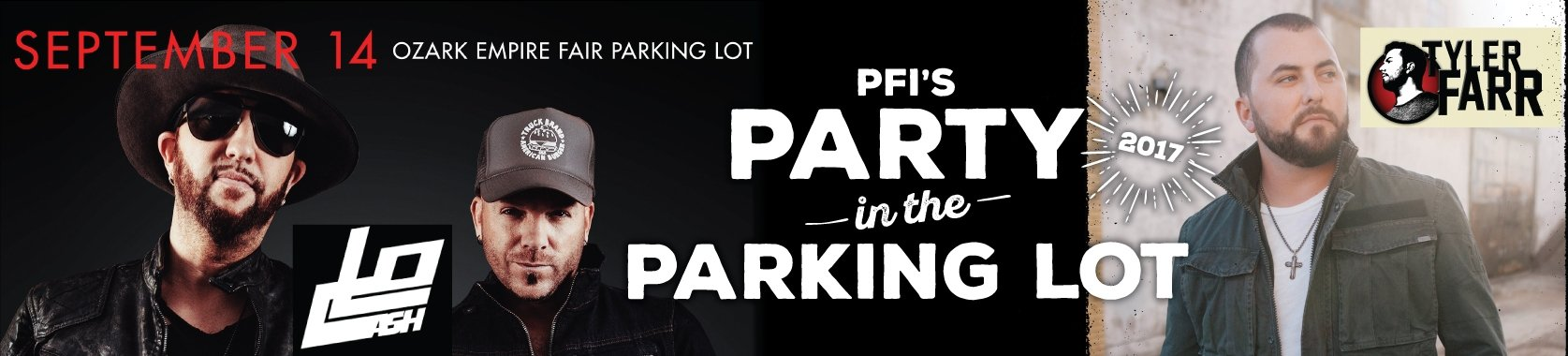 Party in the Parking Lot Announcement