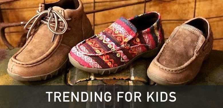 Kids Casual Western Shoes