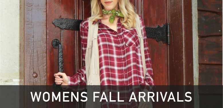Womens Fall Western Arrivals