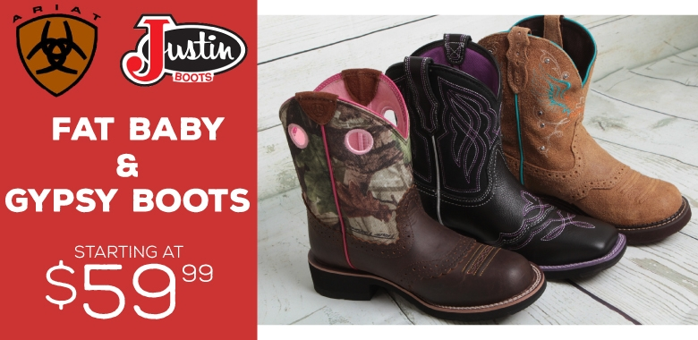 Ladies Fatbaby Boots