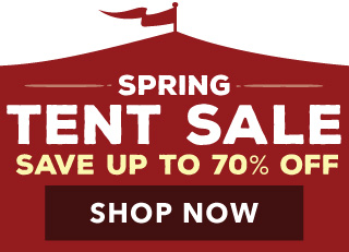 Spring Tent Sale