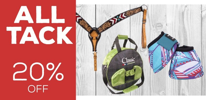 All Tack 20% Off