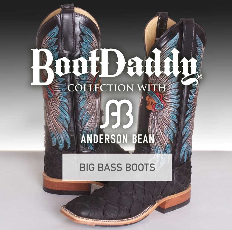 Big Bass Cowboy Boots