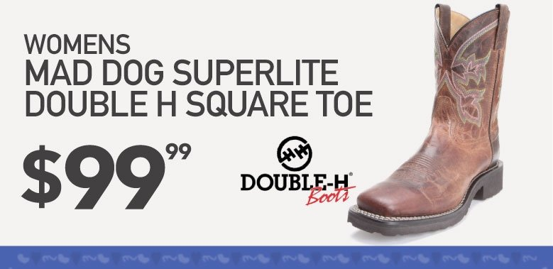 Womens Double H Work Boot