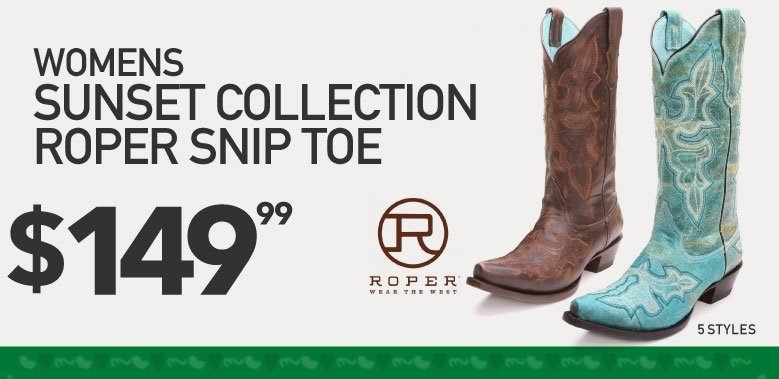 Bootdaddy Roper Sunset Collection