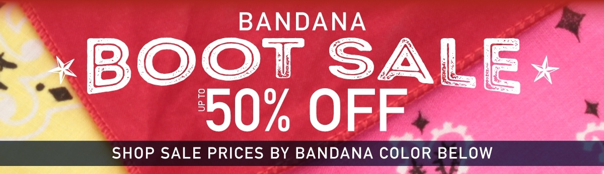 Bandana Boot Sale 2018