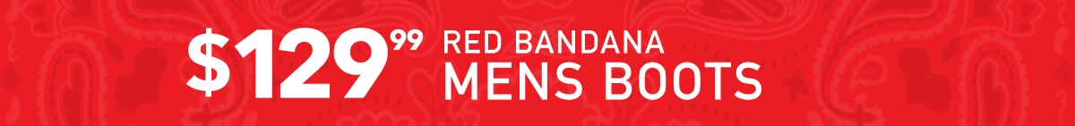 Red Bandana Mens