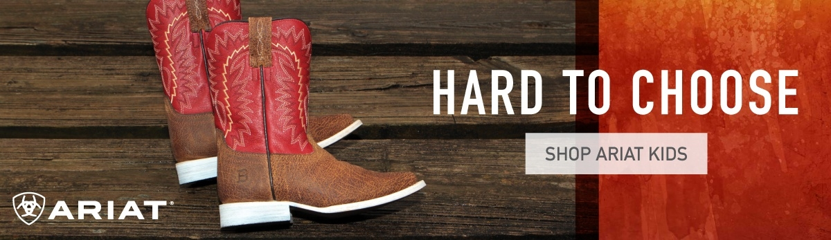 Kids Ariat Cowboy Boots